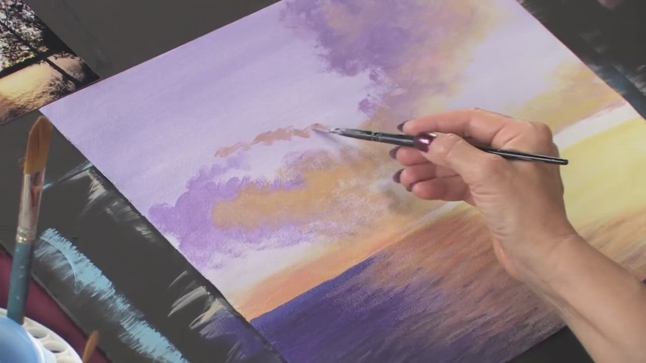 Everything You Need to Know When Painting with Acrylics